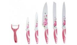 6 ks sada nožů a škrabky