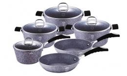 10-dílná Kameninová sada kuchyňského nádobí STONE TOUCH LINE