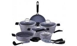 15-dílná Kameninová sada kuchyňského nádobí STONE TOUCH LINE