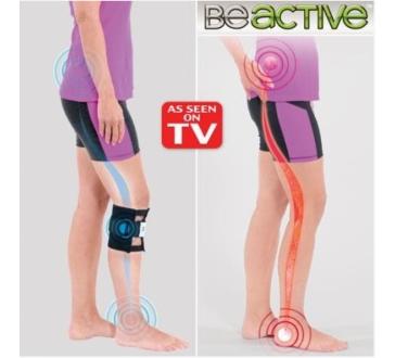 Be active - akupresurní systém pro zmírnění bolesti zad a svalů