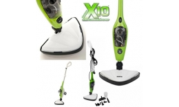 Parní Mop X10 10v1 šikovný a efektivní parní čistič