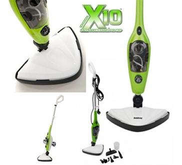 Parní Mop X 10 šikovný a efektivní parní čistič