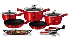12+2 sada kuchynského nádobí Metallic BerlingerHaus LINE