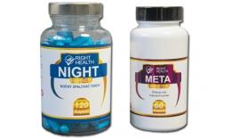 Výživový doplněk na hubnutí META BOOSTER + NIGHT BURNER