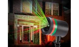 Laserová dekorační lampa - projektor noční oblohy Star Shower