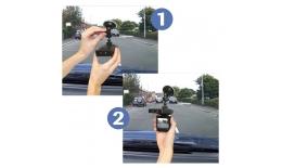 """Přenosná autokamera s 2,5 """"displejem"""
