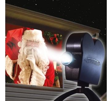 Laserový promítač na okno Star Shower