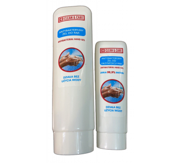 Antibakteriální dezinfekční gel na ruce CLEAN&CARE, 50 ml nebo 125 ml
