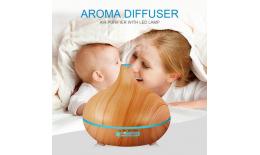 Ultrazvukový AROMA DIFÚZER s dálkovým ovládáním