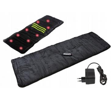 Vyhřívaný INFRA masážní matrace s 9 vibračními body