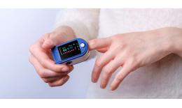 Pulsní Oximetr - Pulsmetr s LCD displejem