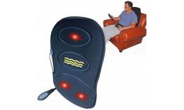 Masážní a vyhřívací poduška do auta